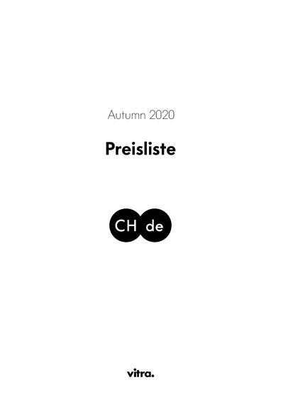 Preisliste Autumn 2020