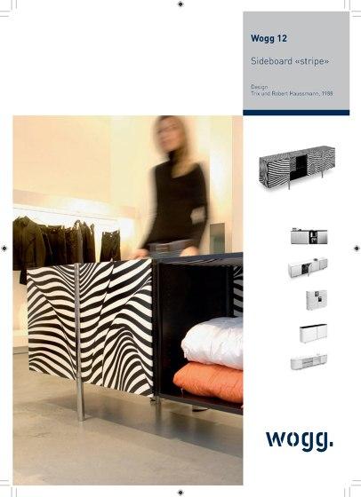 Wogg AMOR | Sideboard «stripe»