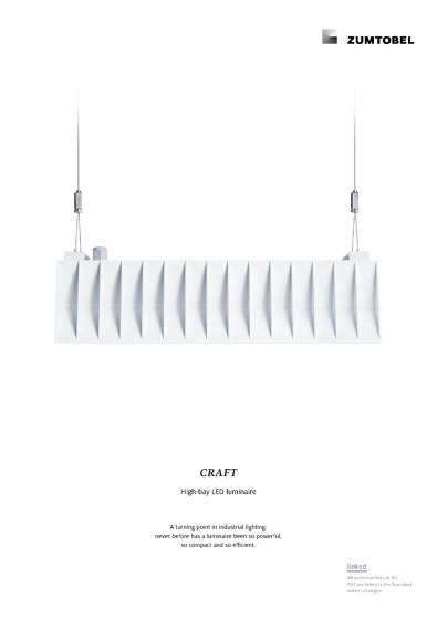 CRAFT | High-bay LED luminaire