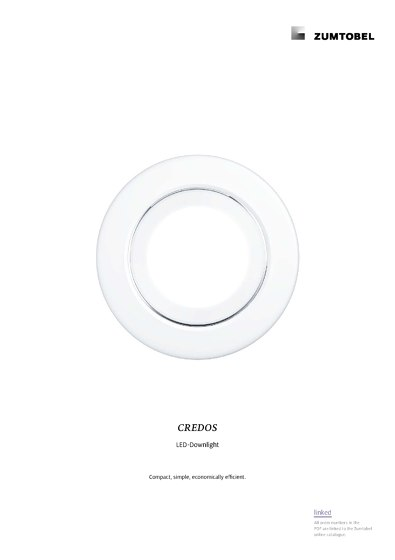 CREDOS | LED-Downlight