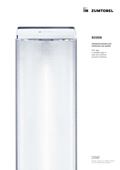 ECOOS | Individual luminaire and continuous row system