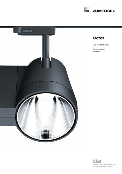 FACTOR | LED spotlight range