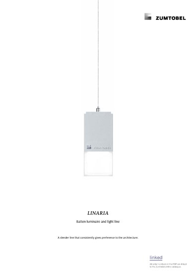 LINARIA | Batten luminaire and light line