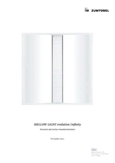 MELLOW LIGHT evolution / infinity | Recessed and surface-mounted luminaire