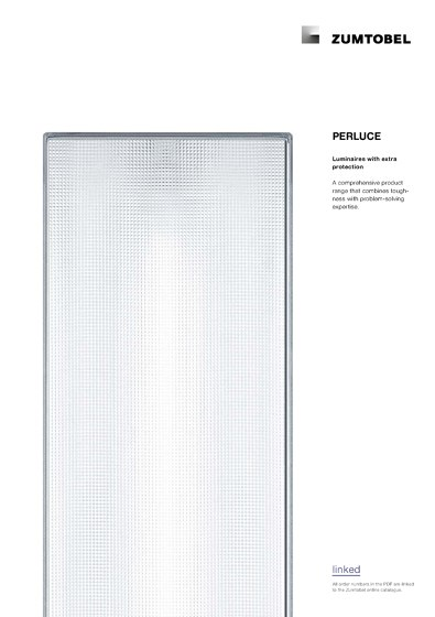 PERLUCE | Luminaires with extra protection