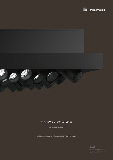 SUPERSYSTEM outdoor | LED outdoor luminaire