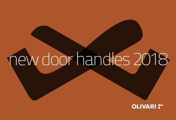 OLIVARI - NEW DOOR HANDLES 2018