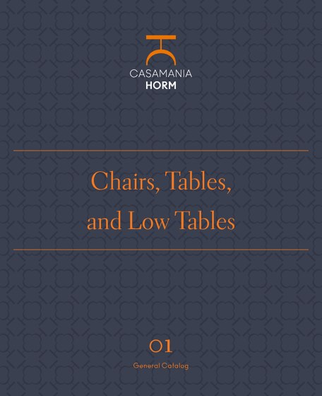 Chairs, Tables, and Low Tables 01