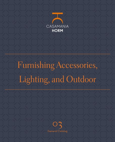 Furnishing Accessories, Lighting, and Outdoor 03