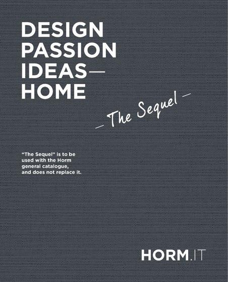 Horm | Design, Passion, Ideas - Home | The Sequel