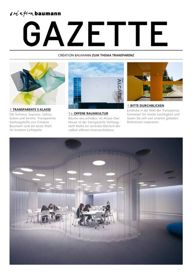 Gazette Transparenz