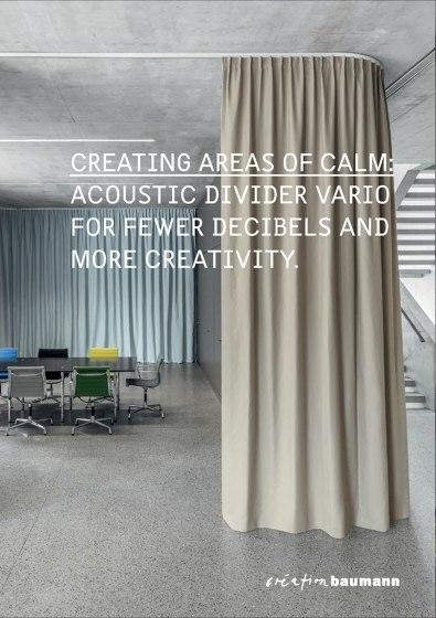 Acoustic Divider Vario