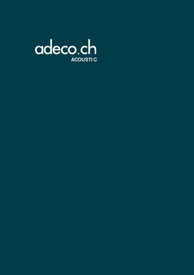 Brochure Acoustic
