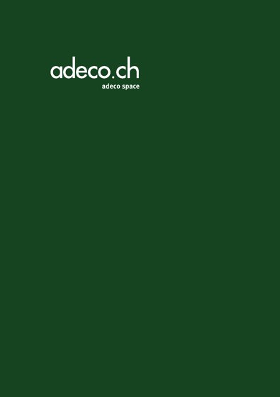 Brochure adeco space