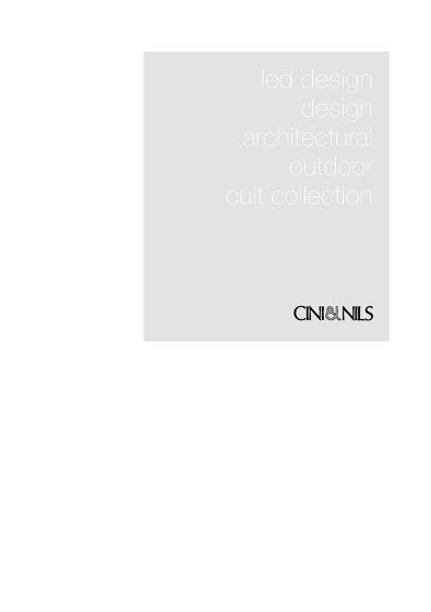 Cini&Nils Catalogue 2016