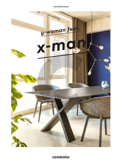 y-woman feat. x-man