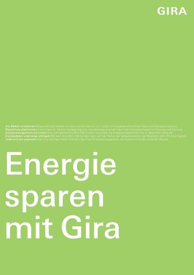 Energie sparen mit Gira