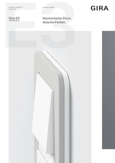 Gira E3 Broschüre