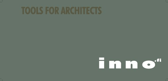 INNO - Tools for Architects