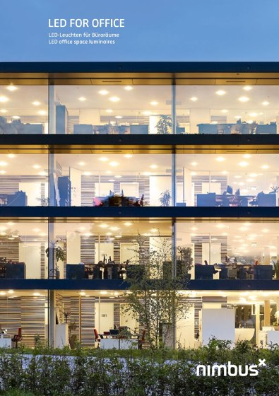 LED D FOR OFFICE - LED office space luminaires
