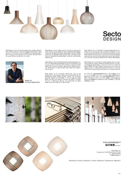 Secto Design Leaflet 2020