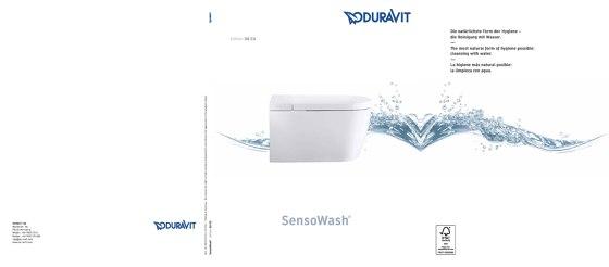 Screen SensoWash Broschüre 2019
