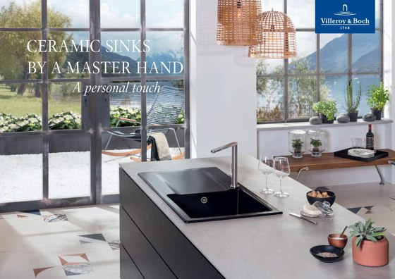 CERAMIC SINKS BY A MASTER HAND