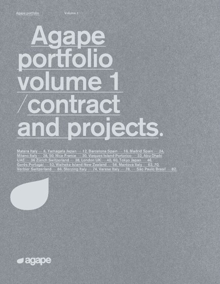 Portfolio volume 1 | contract and projects