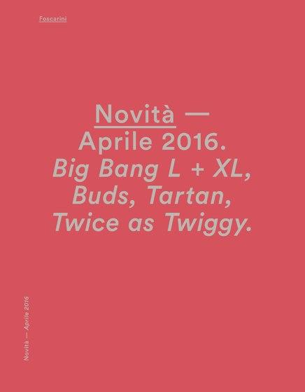 Foscarini News april 2016