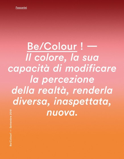 Be/Colour !