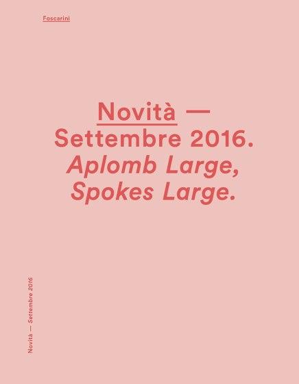 Foscarini News september 2016
