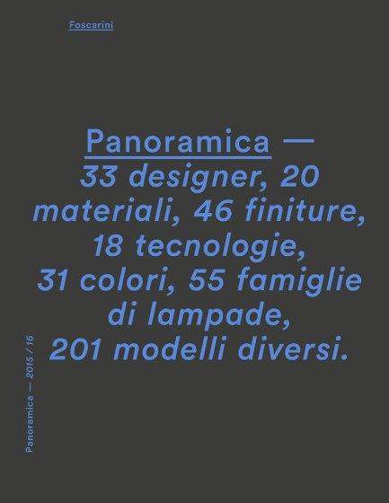 Foscarini Panoramica 2015