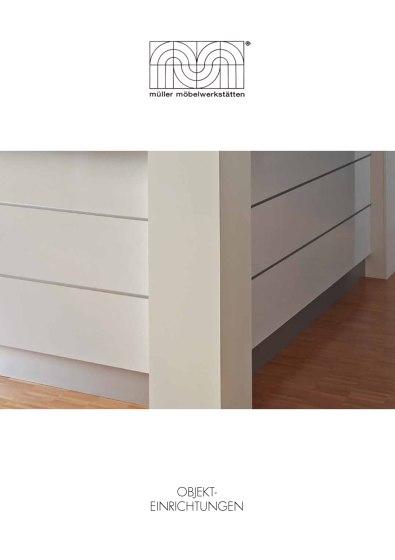Müller Möbelwerkstätten object furniture