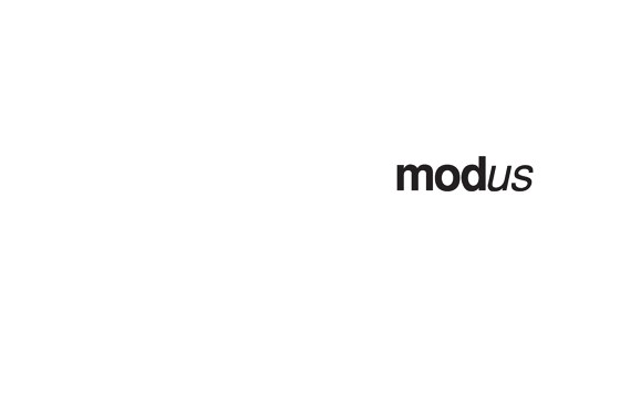 Modus Catalogue 2009