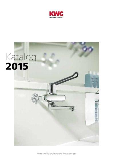 KWC Katalog – Professionelle Anwendungen 2015/2016