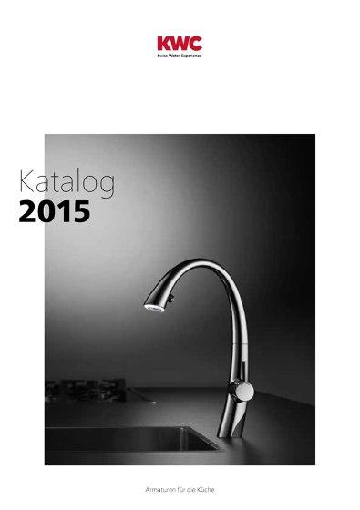 KWC Katalog – Küche 2015/2016
