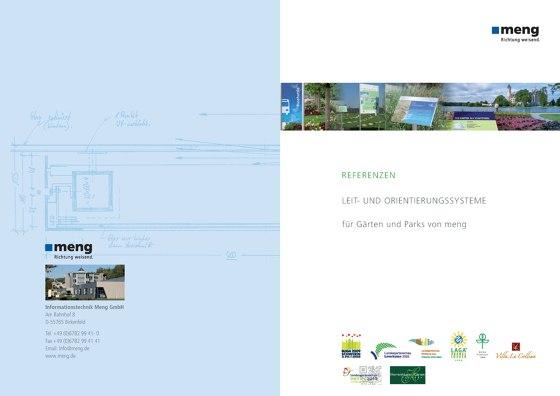 Leit- und Orientierungssysteme für Gärten und Parks