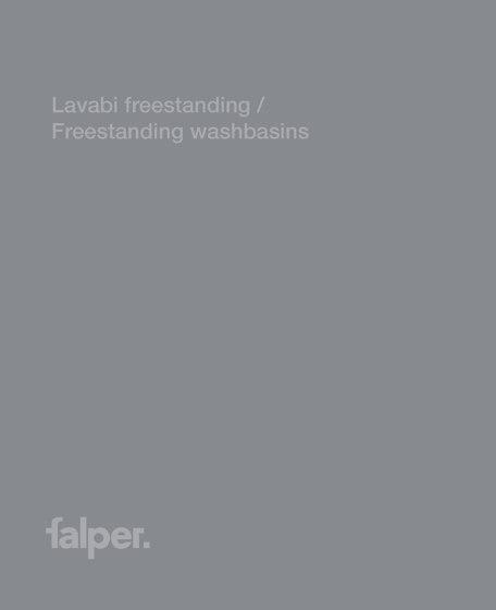 Lavabi freestanding / Freestanding washbasins