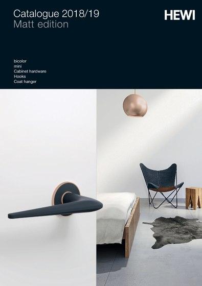 HEWI - Catalogue 2018/19 Matt edition