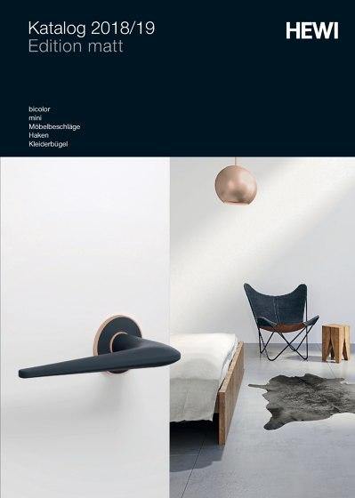 HEWI - Katalog 2018/19 Edition matt