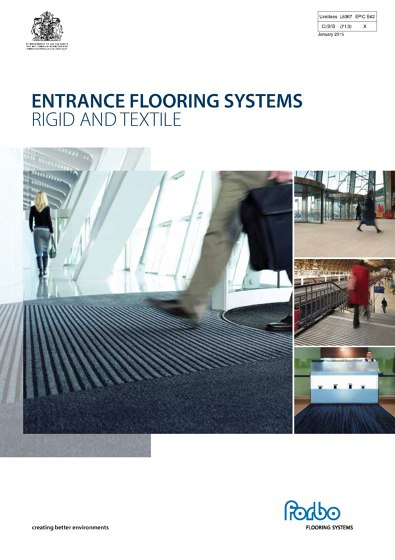 Entrance Flooring Sytems Brochure 2015
