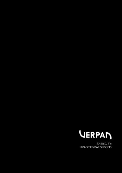 Verpan Fabric by: Kvadrat/Raf Simons