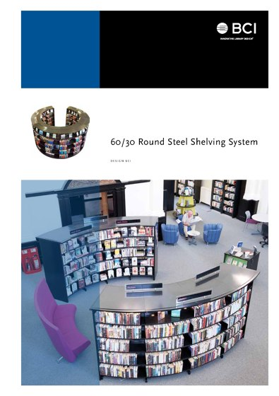 60/30 Round Steel Shelving System
