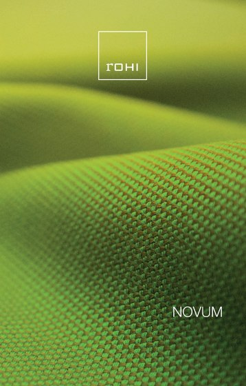 Novum Sample Card