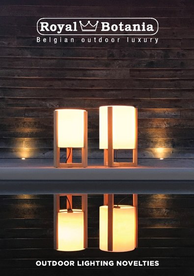 Outdoor lighting novelties 2019