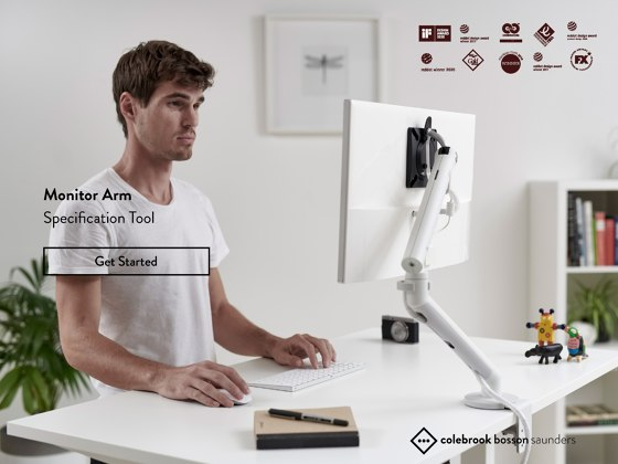 Monitor Arm Specification Tool