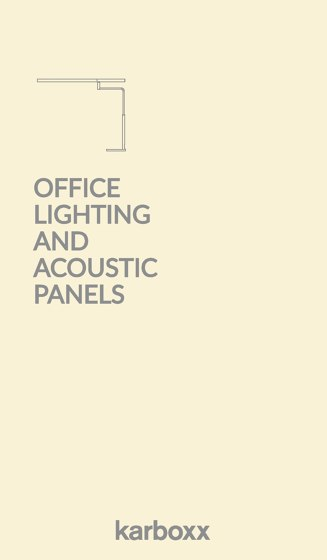 Office Lighting and Acoustic Panels