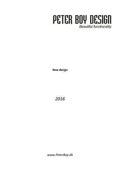 Peter Boy Design 2016