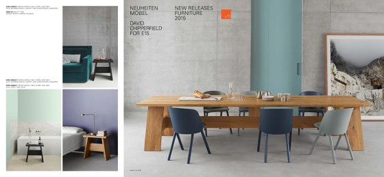New Releases Furniture David Chipperfield 2015