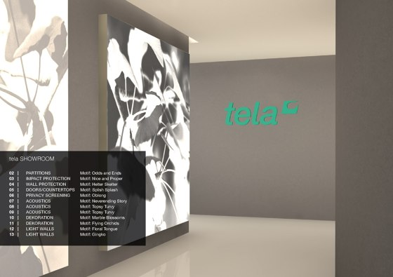 Tela Showroom EN